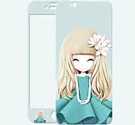 лилия девушка блеск HD к царапинам, прежде чем стеклянная защита пленки для Iphone 6