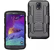 Zukunft Rüstung Hybrid Fall Militär 3 in 1 Kombi-Cover für Samsung Galaxy Note 4 Stand bei Dreifach-Voll capa