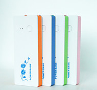 High efficiency Power bank with a LED light Super Slim Fashion shape All smartphones match 2800mAh