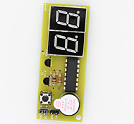 Digital 2-Digit Seven-Segment Pulse Counter Module - Green + Black
