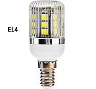 E14/E26/E27 3 W 27 SMD 5050 350 LM Warm White/Cool White Dimmable Corn Bulbs AC 110-130/AC 220-240 V