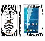 Explosion-Proof -Toughened Membrane Transparent Anti-Shock Pasted color-membrane for Samsung Galaxy A7
