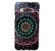 Datura Flowers  Pattern Glitter TPU Cell Phone Soft Shell For Galaxy A3 /A5 /A7