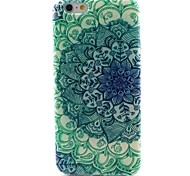 Blue and White Pattern TPU Material Phone Case for iPhone 6/6S