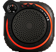 AJ94 Waterproof wireless Speaker Handsfree With Temperature meter LED Flashlight TF& AUX Support portable Speaker