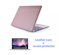 2016 Newest Leather Full Body MacBook Case with Screen Flim for  MacBook Air 11.6 inch