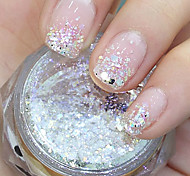 Hexagonal Glitter Tablets Nail Art Decorations