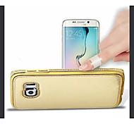 Diamond Aluminium Alloy leather Case for Samsung Galaxy S6