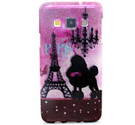 Romantic Tower  Pattern Glitter TPU Cell Phone Soft Shell For Galaxy A3 /A5 /A7