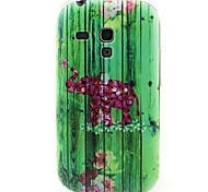 modello elefante materiale TPU soft phone per mini i8190 galassia S3