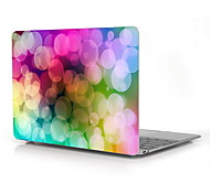"Colorful Bubble Design Full-Body Protective Plastic Case for 12"" Inch The New Macbook with Retina Display"