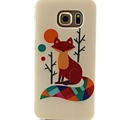 Fox Pattern TPU Material Phone Case for Samsung Galaxy S3 S4 S5 S6 S3Mini S4Mini S5Mini S6 edge
