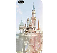 The Castle Pattern Phone Back Case Cover for iPhone5C