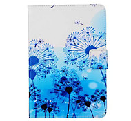 Painted Blue Dandelion Stand Tablet PC Case for Ipad mini1/2/3
