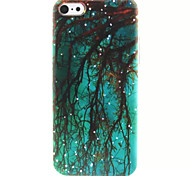 Weeping Willow  Pattern TPU Phone Case for iPhone 5C