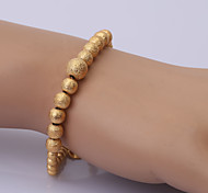 China Gold Series Bracelet 4 Chain & Link Bracelets Wedding/Party/Daily/Casual 1pc