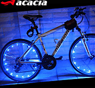 Bike Wheel Light,ACACIA LEDs Cycling Bike Waterproof Signal Tire Spoke Brighting Light Flash wire lamp