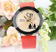Women's Circular Quartz Fashion Watch Cool Watches Unique Watches