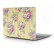 "Yellow Flower Pattern Full-Body Protective Case for 12"" Inch The New Macbook with Retina Display (2015 Release)"
