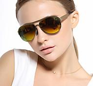 Sunglasses Women's Classic / Retro/Vintage / Polarized Flyer Black / Orange / Gray Sunglasses Full-Rim
