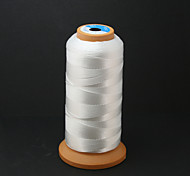 Beadia 480M/Roll 100% Nylon Thread 0.5mm White Beading Cord String DIY Accessories