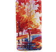 foresta di mangrovie modello materiale TPU soft phone per lg mini g3
