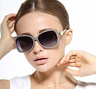Gafas de Sol mujeres's Clásico / Elegant / Retro/Vintage / Modern / Moda / Polarizada Ojo de Gato Negro / Blanco / Marrón / GrisGafas de