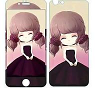 Зимний жасмин девушка блеск HD к царапинам, прежде чем стеклянная защита пленки для Iphone 6s / 6