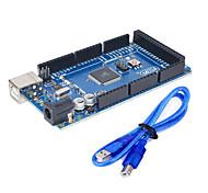 para Arduino 2560 r3 (neutro) placa de desarrollo, para arduino