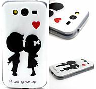 Kiss Pattern TPU Material Phone Case for Samsung  Galaxy Grand Neo i9060/G355H/G360/G850/G530/J1/G350