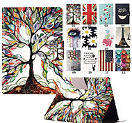 Cartoon Tree Graphic Full Body PU Leather PC Case Cover with Stand for Amazon Kindle Paperwhite 2(Assorted Colors)