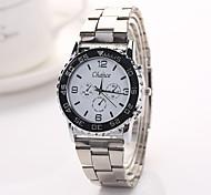 Frau Kleid Uhren Genf brandneuen Ankunft Legierungsband Herrenuhr Kinderuhren Armbanduhren Stahl watchxr1123