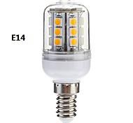 Bombillas Mazorca Regulable E14/E26/E27/G9 3 W 27 SMD 5050 350 LM Blanco Cálido/Blanco Fresco AC 110-130/AC 100-240 V