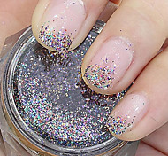 Colourful Glitter Powder Nail Art Decorations