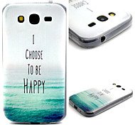 Sea Pattern TPU Material Phone Case for Samsung  Galaxy Grand Neo i9060/G355H/G360/G850/G530/J1/G350