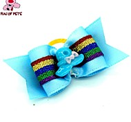 Dog Hair Accessories Spring/Fall - Blue - Wedding / Cosplay - Mixed Material