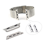 Stainless Metal Adapter Connector for iWatch 38mm