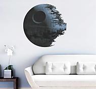 3D Star Wars Death Star PVC Wall Sticker Wall Decals