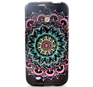 Datura Flowers Pattern Glitter TPU Cell Phone Soft Shell For Galaxy S3 /S4 /S5 /S6/ S6 edge /S3Mini /S4 Mini