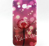 Dandelion Pattern TPU Material Soft Phone Case for Samsung G355H G530 G357F G360 G386F G850F G3500