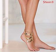 shixin® partido liga tornozeleira / dia / jóias 1pc ocasional
