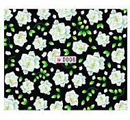 Beautiful Flowers Nail Art Stickers