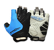 Basecamp Silica GeL Lycra Soft Mat Short Ride Bycicle Semi-finger Gloves Blue BC-202