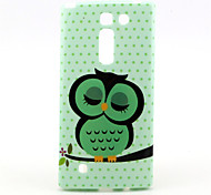 Wave point Owl  Pattern TPU Soft Case for LG H502