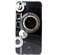Camera Pattern TPU Soft Case for iPhone 6 Plus