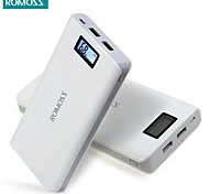 ROMOSS Sense 6 Plus LCD 20000mAh Portable Charger External Battery Pack Power Bank Fast Charging