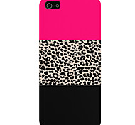 Leopard Grain Pattern Phone Back Case Cover for iPhone5C