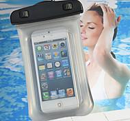 mergulho e surf e natação saco impermeável para iphone 5 5s 5c caso de telefone 20m debaixo d'água com estilingue (cores sortidas)