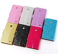 Plating Powder Fashion Mobile Phone Leather Phone Cases for Nokia Lumia 630(Assorted Colors)
