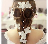 Bride with Korean Handmade JewelryWholesale Pearl Hair Headdress Wedding Wedding Accessories